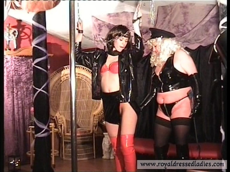 LaTeX Fetish Swinger Theater Party - RDL - Threesome