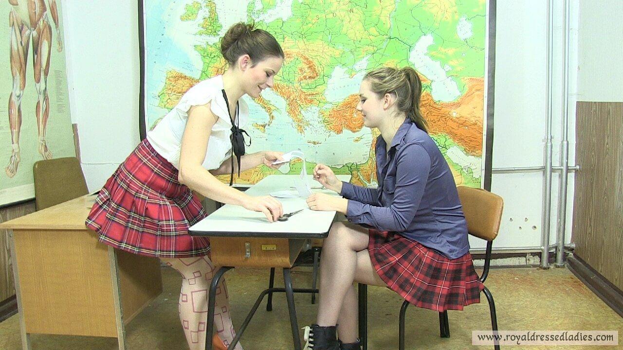 Schoolgirl Sex Report Part 1