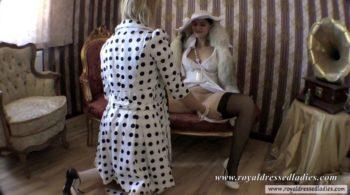 Perverted elegant satin lesbians Part 2 - RDL - Elegante Weibsbilder
