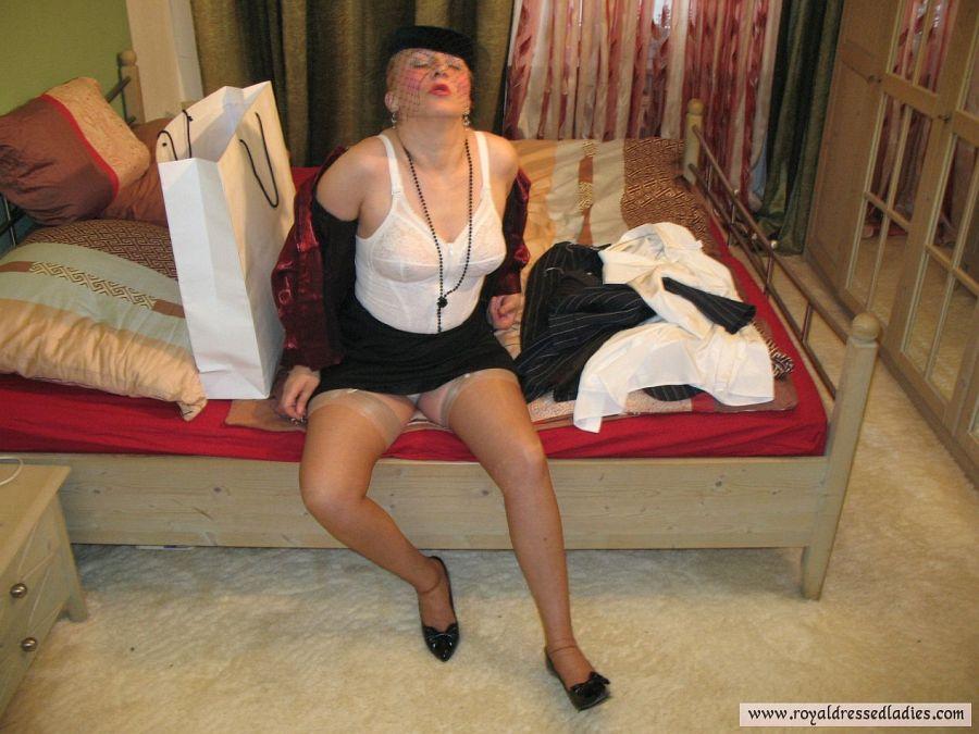Czech slutty presents satin blouses