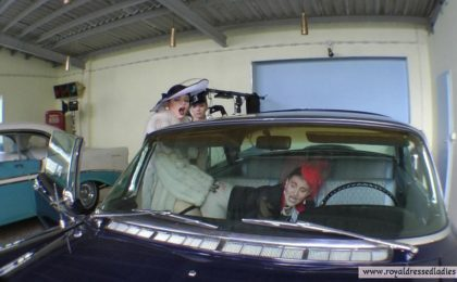 Lesbians fuck in classic cars Part 4 - RDL - American Classic Car Porn
