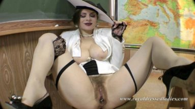 Classy glamour teacher bitch Part 1 - RDL - Fully clothed Fur-Fetish